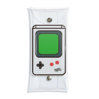 GameB●y Clear Multipurpose Case