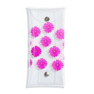 フラワー祭り01 Clear Multipurpose Case