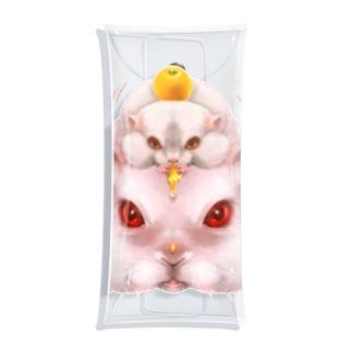 鏡餅 Clear Multipurpose Case