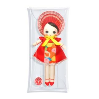 文化人形 宙ちゃん Clear Multipurpose Case