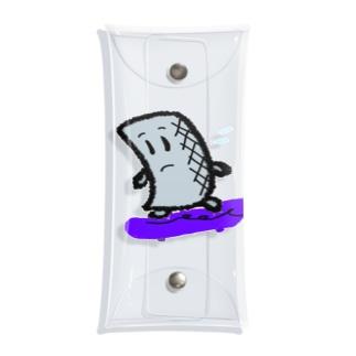 インコアンド の焦るコン太氏 Clear Multipurpose Case