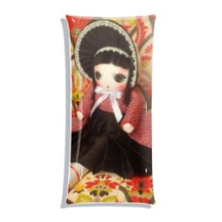 文化人形 カノ Clear Multipurpose Case