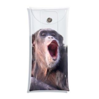 チンパンマン Clear Multipurpose Case