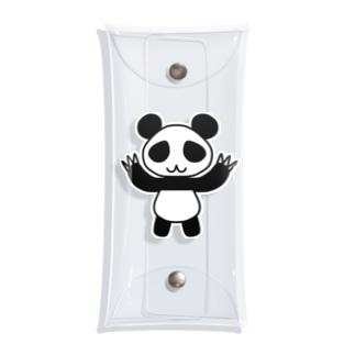 ガオー!パンダ Clear Multipurpose Case