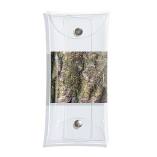 歳月を感じる樹木 Clear Multipurpose Case