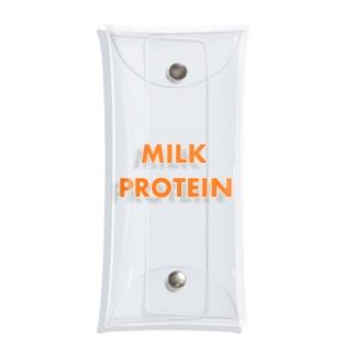 MILK PROTEIN  Clear Multipurpose Case