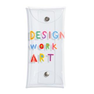DESIGN WORK ART  Clear Multipurpose Case