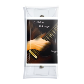 8-String Pak-age Clear Multipurpose Case