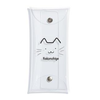 猫のひげオリジナル Clear Multipurpose Case