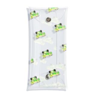 カエルの集い🐸 Clear Multipurpose Case