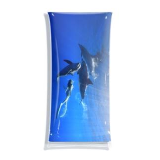 Ayano & Dolphin クリアな商品 Clear Multipurpose Case