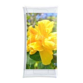 聖地に咲くハイビスカス(黄) Clear Multipurpose Case