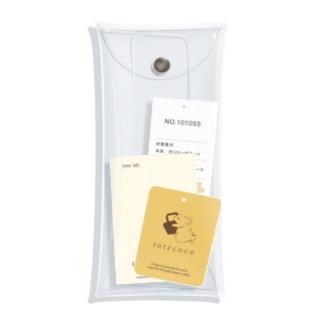 紙もの集め(タグ) Clear Multipurpose Case
