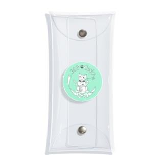 369-cat ロゴマーク Clear Multipurpose Case