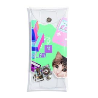 momo_emi 電化製品 Clear Multipurpose Case