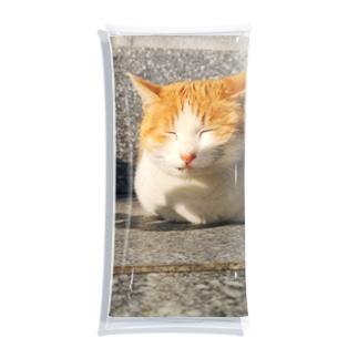島の野良猫 Clear Multipurpose Case