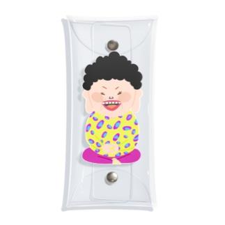 仏のような大阪のおばちゃん Clear Multipurpose Case