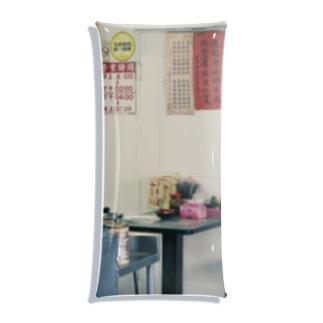 おはしと台湾の食堂のクリアケース Clear Multipurpose Case