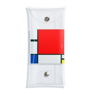モンドリアン Composition with Red, Blue and Yellow  Piet Mondrian1930 Clear Multipurpose Case