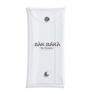 京都バルバラのグッズだよのバルバラロゴシリーズ Clear Multipurpose Case