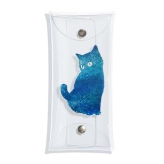 宇宙猫 Clear Multipurpose Case