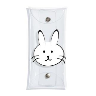 メモのウサギさん Clear Multipurpose Case