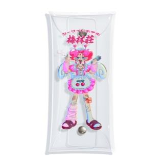 カチコミちゃん Clear Multipurpose Case