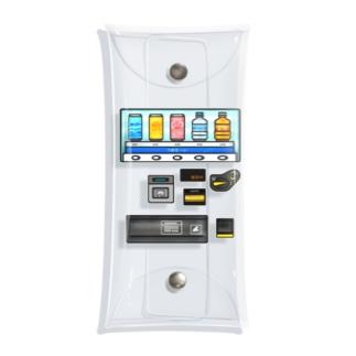 つめた〜い 自動販売機 Clear Multipurpose Case