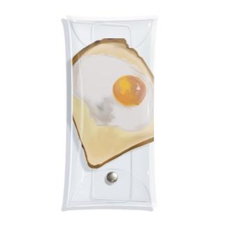 目玉焼きの乗ったパン Clear Multipurpose Case