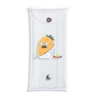 ふるまやぐみの人参博士【野菜戦隊】 Clear Multipurpose Case