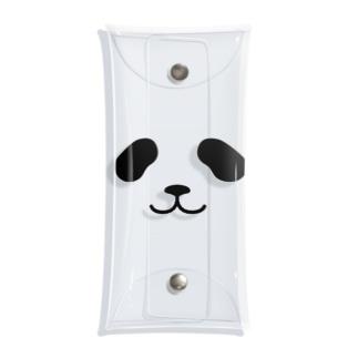 まったりパンダ-フェイス Clear Multipurpose Case