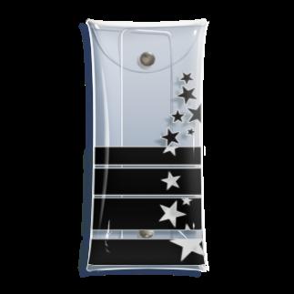 ワカボンドの流れ落ちる星達 Clear Multipurpose Case