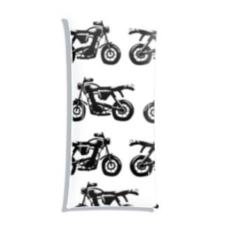 かっこいいバイク Clear Multipurpose Case