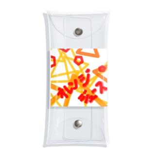anpannのオレンジジュース Clear Multipurpose Case
