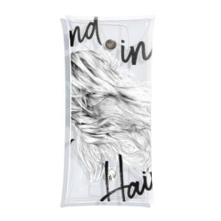 WIND IN HER HAIR Clear Multipurpose Case