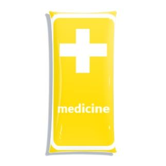 薬 medicine 💊 Clear Multipurpose Case