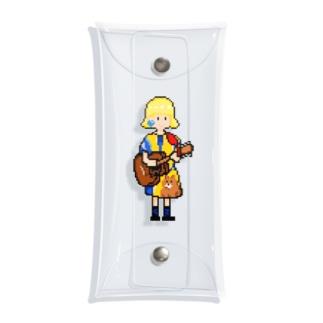 ギター少女 Clear Multipurpose Case