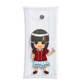 ちびキャラ/NORMALTYPE【一ノ瀬彩】 Clear Multipurpose Case