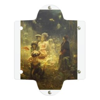 世界の絵画アートグッズのイリヤ・レーピン 《海底の王国でのサドコ》 Clear Multipurpose Case