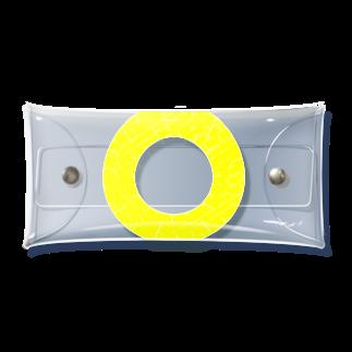RAD_TireArt の輪っかパイン Clear Multipurpose Case