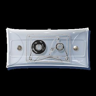 oyasmurのテープの幻 Clear Multipurpose Case