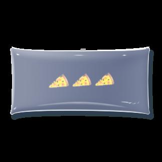 nascos.のpizza dark Clear Multipurpose Case