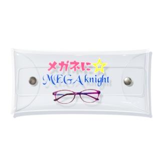 メガネを☆いれナイト Clear Multipurpose Case