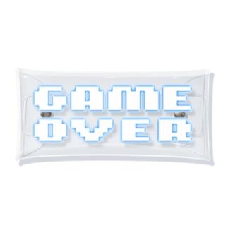GAMEOVER3 Clear Multipurpose Case