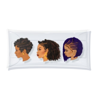 90s hairstyle-women- Clear Multipurpose Case