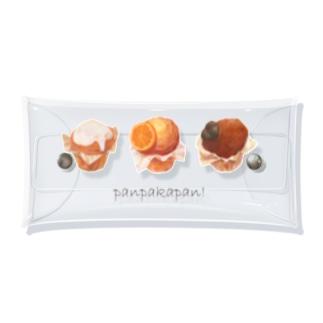 カップケーキ Clear Multipurpose Case