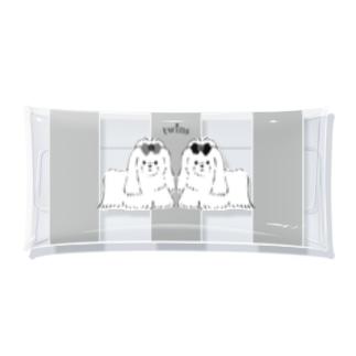 twins Clear Multipurpose Case