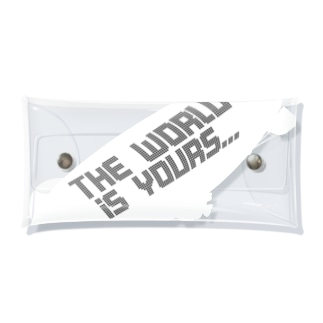THE WORLD IS YOURS…(飛行船のみvr) Clear Multipurpose Case