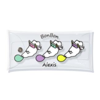BonBonの風船ガムをふくらますアレクシス Clear Multipurpose Case