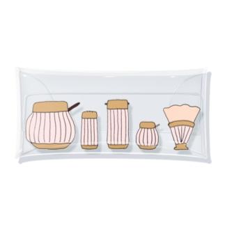 おいしい食卓 Clear Multipurpose Case